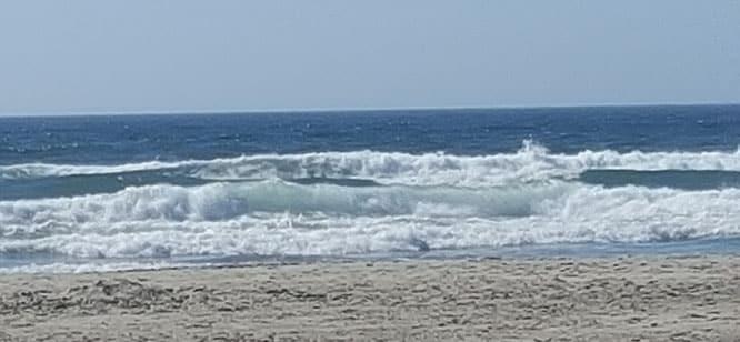 Empty Beach Scene
